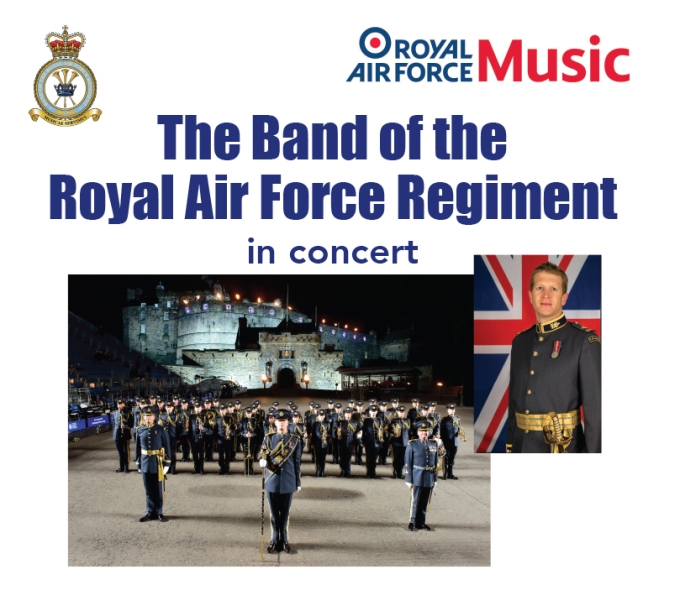 RAF Band   Sat 23rd Feb @7.30pm